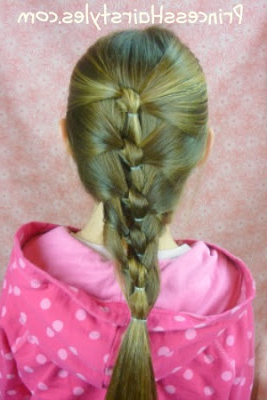 Seashell Knotted Hairstyles   Hairstyles For Girls Intended For Most Current Knotted Braided Updo Hairstyles (View 23 of 25)