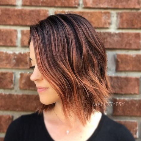 Short Hair Color Trends 2019 | Loose Hairstyles, Hair With Latest Loose Highlighted Half Do Hairstyles (View 23 of 25)