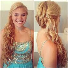 Side French Braid With Loose Curls   Pageant Hair, Pretty With 2020 Loose Double Braids Hairstyles (View 16 of 25)