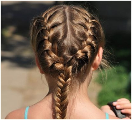 Simple Side Braided Hairstyle Throughout Current Pancaked Side Braid Hairstyles (View 15 of 25)