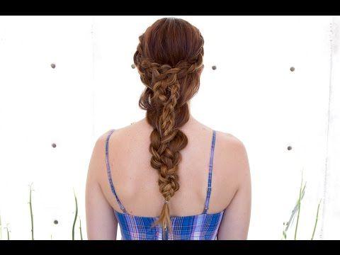 Stacked Dutch Braid | Braided Hairstyles Tutorials, Hair With Newest Dutch Heart Braid Hairstyles (View 3 of 25)