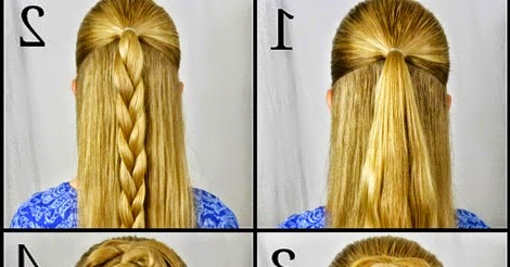 Swept Up Rose Braid Bun Hairstyle Stepstep With Recent Double Rose Braids Hairstyles (View 15 of 25)