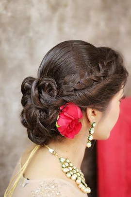 These Are The Most Amazing Engagement Hairstyles That You Pertaining To Most Current Rolled Roses Braids Hairstyles (View 3 of 25)