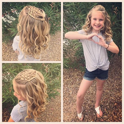 Today We Did A French Braid Headband With A Braided With Regard To Most Current Defined French Braid Hairstyles (View 15 of 25)