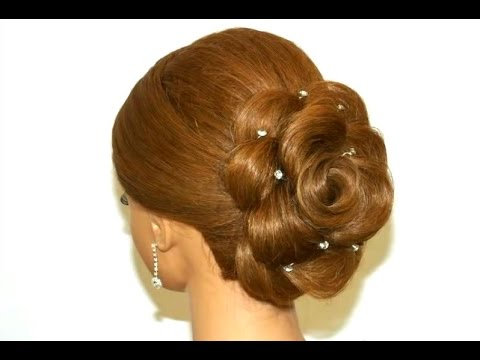 Wedding Hairstyle For Long Hair. Hair Made Rose (View 21 of 25)