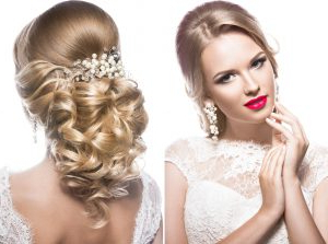 Wedding Hairstyles For A Round Face Shape – Hair World With Newest Light Pink Semi Crown Braid Hairstyles (View 10 of 25)