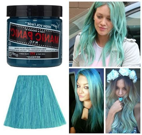 We'Ve Gathered Our Favorite Ideas For Manic Panic Glow In Intended For Most Recent Light Pink Semi Crown Braid Hairstyles (View 18 of 25)