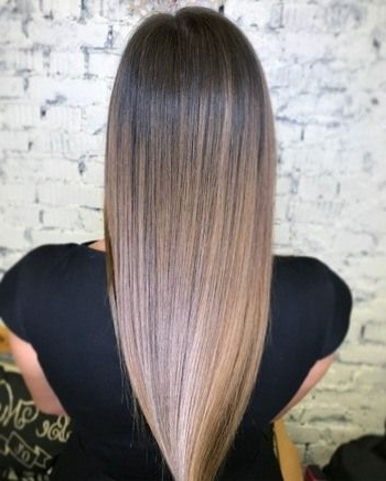 10 New Ombre Haircolor Ideas To Try Next | Redken | Brown In Lavender Balayage For Short A Line Haircuts (View 19 of 25)
