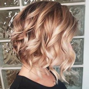10 Strawberry Blonde Hair Ideas & Formulas   Wella In Blonde Balayage On Short Dark Hairstyles (View 10 of 25)