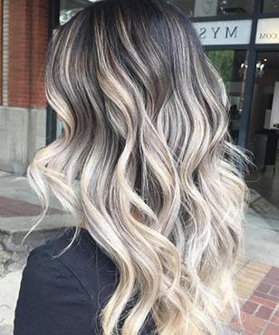 11 Black Hair With Ash Blonde Balayage – Gayla Smith With Regard To Blonde Balayage On Short Dark Hairstyles (View 3 of 25)