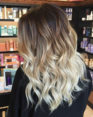 13 Hottest Ombre Hairstyles For Long, Medium And Short Regarding Natural Looking Dark Blonde Balayage Hairstyles (View 12 of 25)