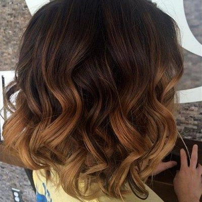 14 Most Beautiful Short Curly Hairstyles And Haircuts For Intended For Blonde Balayage Hairstyles On Short Hair (View 11 of 25)