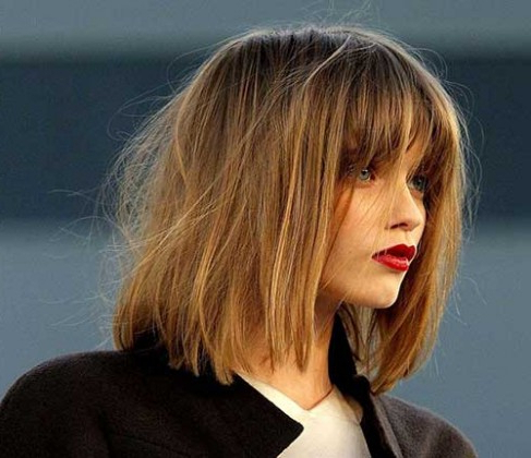 Featured Photo of Blunt Bob Hairstyles With Face Framing Bangs