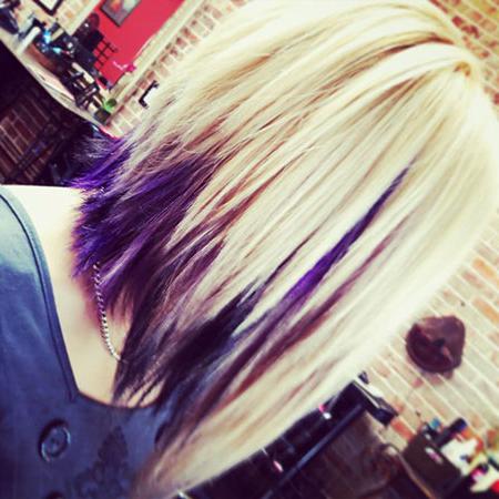 18 Short Blonde Purple Hair Color – Blonde Hairstyles 2020 With Blonde Balayage Hairstyles On Short Hair (View 20 of 25)