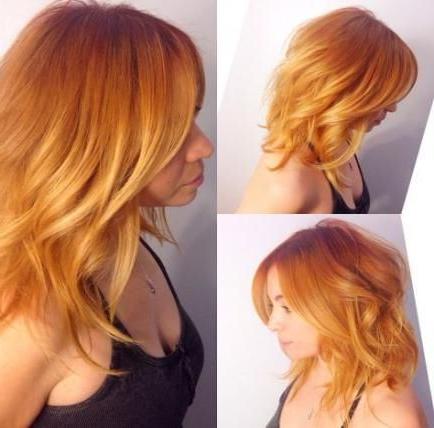 19 Ideas Hair Copper Orange Strawberry Blonde – 19 Ideas For Strawberry Blonde Balayage Hairstyles (View 12 of 25)