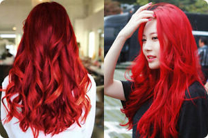 2 X Berina Hair Color Cream Hair Dye Bright Red Color A23 Intended For Bright Red Balayage On Short Hairstyles (View 21 of 25)