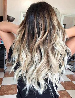20 Amazing Brown To Blonde Hair Color Ideas | Hair Styles Within Dimensional Dark Roots To Red Ends Balayage Hairstyles (View 13 of 25)