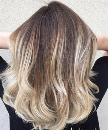20 Balayage Hair Looks We'Re Dying To Try — Balayage Hair Within Ash Blonde Balayage Ombre On Dark Hairstyles (View 12 of 25)