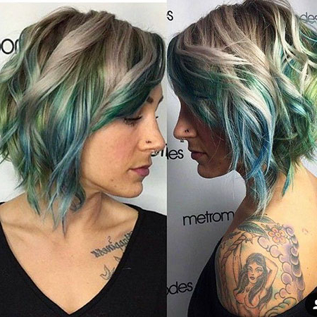 20 Balayage Ombre Short Hair Regarding Ash Blonde Balayage For Short Stacked Bob Hairstyles (View 21 of 25)