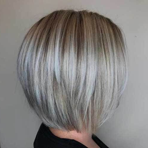 20 Blonde Short Hair Ideas   Choppy Bob Hairstyles, Bob Throughout Ash Blonde Balayage For Short Stacked Bob Hairstyles (View 14 of 25)