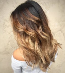 20 Cool Caramel Balayage Hairstyles – Page 2 Of 20 Intended For Caramel Blonde Balayage On Inverted Lob Hairstyles (View 7 of 25)