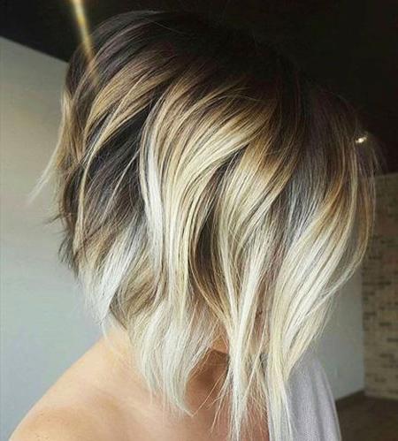 20 Edgy Bob Haircuts   Bob Hairstyles 2018 – Short Pertaining To Blonde Balayage Hairstyles On Short Hair (View 25 of 25)