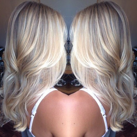 20 Haar Farbe Ideen: Platin Blonde Haare With Shaggy Bob Hairstyles With Blonde Balayage (View 24 of 25)