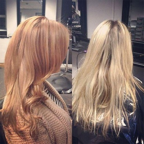 20 Natural Looking Shades Of Strawberry Blonde Hair Color In Brown Blonde Sweeps Of Color Hairstyles (View 25 of 25)