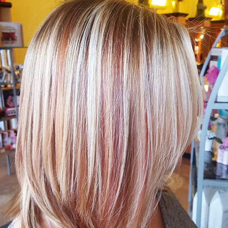 20+ Short Blonde Hair With Highlights – Blonde Hairstyles 2020 For Strawberry Blonde Balayage Hairstyles (View 21 of 25)