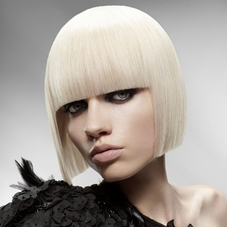 2013 Platinum Blonde Hair Color Trend   2019 Haircuts With Cool Toned Angled Bob Hairstyles (View 16 of 25)