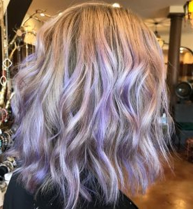21 Amazing Short Blonde Balayage Hairstyles – Hairstylecamp With Regard To Lavender Balayage For Short A Line Haircuts (View 20 of 25)