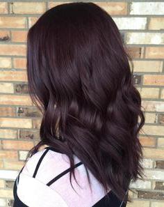 21 Mahogany Hair Colour Ideas | Hair, Burgundy Hair, Hair Inside Burgundy Balayage On Dark Hairstyles (View 19 of 25)