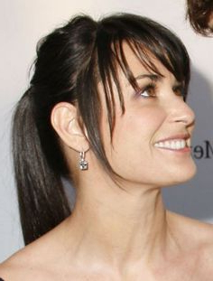 217 Best Bangs Images On Pinterest In 2018 | Hair Throughout Long Layers Hairstyles With Face Framing (View 14 of 25)