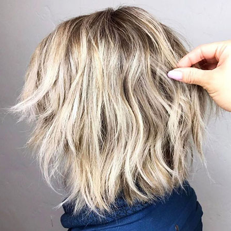 23 Short Shag Hairstyles | Short Hairstyles Throughout Bronde Balayage For Short Layered Haircuts (View 19 of 25)