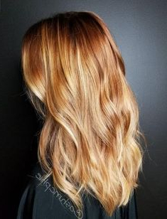 25 Best Copper Blonde Balayage Images | Hair Styles With Regard To Strawberry Blonde Balayage Hairstyles (View 14 of 25)