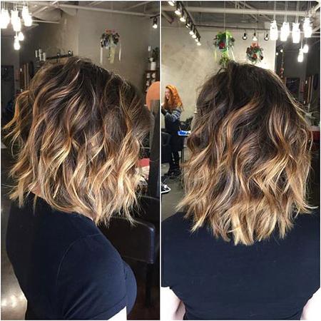 25 Nice Balayage Short Hair For Warm Balayage On Short Angled Haircuts (View 10 of 25)