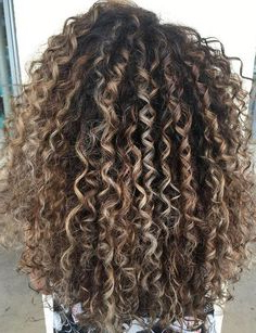 27 Best Balayage For Curly Hair Images | Hair, Curly Hair Pertaining To Natural Looking Dark Blonde Balayage Hairstyles (View 23 of 25)