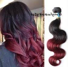 "28"" Myluxury1St 50 Gram Half Bundle Body Wave Brazilian With Burgundy Balayage On Dark Hairstyles (View 25 of 25)"