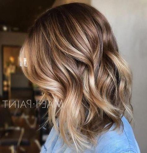 30 Amazing Balayage Hairstyles You Can Try This Year With Lavender Balayage For Short A Line Haircuts (View 4 of 25)