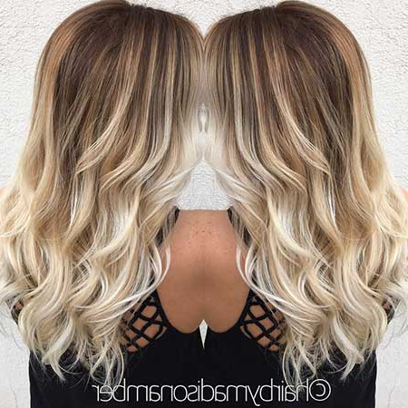 30+ Pics Of Balayage Ombre Long Hairstyles | Hairstyles Within Long Pixie Hairstyles With Dramatic Blonde Balayage (View 25 of 25)