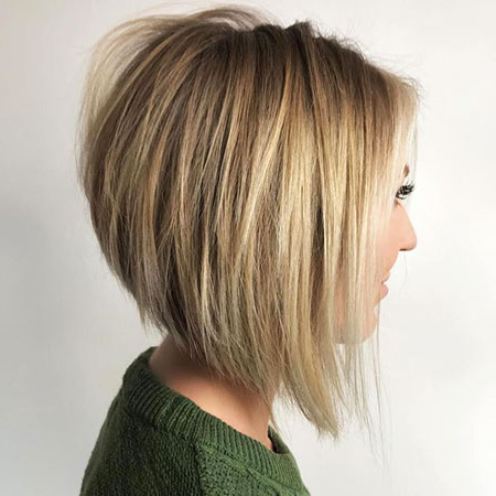 30 Short Haircuts For Straight Hair | Short Hairstyles With Shaggy Bob Hairstyles With Blonde Balayage (View 4 of 25)
