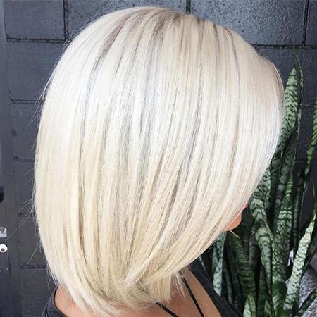 30 Short Platinum Blonde Hairstyles Regarding Blonde Balayage Hairstyles On Short Hair (View 21 of 25)