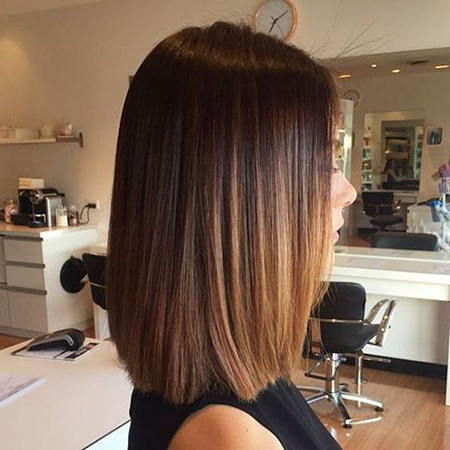30+ Shoulder Length Bob Haircuts 2017 | Bob Hairstyles Intended For Short Bob Hairstyles With Balayage Ombre (View 20 of 25)
