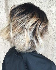 31 Cool Balayage Ideas For Short Hair | Stayglam | Blonde With Natural Looking Dark Blonde Balayage Hairstyles (View 10 of 25)