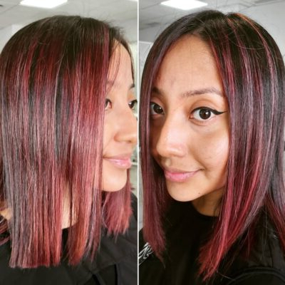 31 Red Balayage And Other Balayage Hairstyles In Pixie Hairstyles With Red And Blonde Balayage (View 15 of 25)
