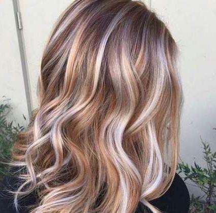32 Super Ideas Hair Brown Auburn Strawberry Blonde | Hair With Regard To Strawberry Blonde Balayage Hairstyles (View 11 of 25)
