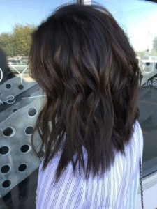 35 Gorgeous Highlights For Brightening Up Dark Brown Hair Within Subtle Balayage Highlights For Short Hairstyles (View 7 of 25)