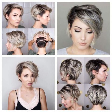38 Short Layered Bob Haircuts With Side Swept Bangs That In Side Swept Face Framing Layers Hairstyles (View 24 of 25)