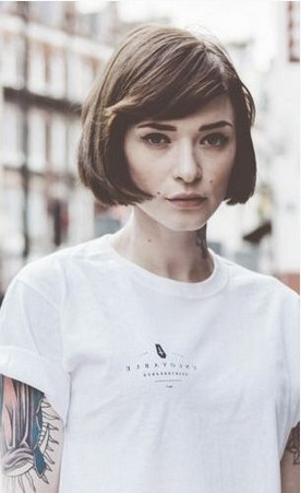 4 Fantastic Short Bob Hairstyles – Pretty Designs Pertaining To Blunt Bob Hairstyles With Face Framing Bangs (View 25 of 25)