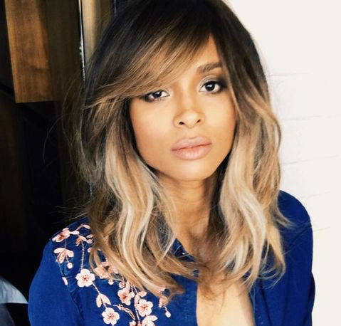 50 Gorgeous Side Swept Bangs Hairstyles For Every Face For Full Fringe And Face Framing Layers Hairstyles (View 7 of 25)